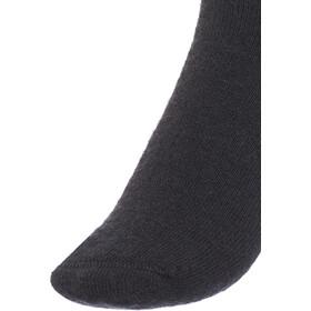 Woolpower 400 Logo Socken black